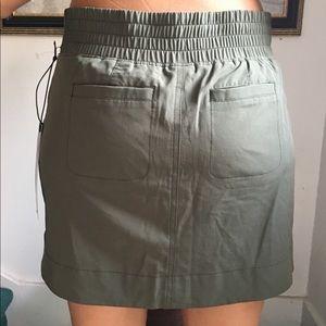 Skort NWT elastic back size small Khaki color